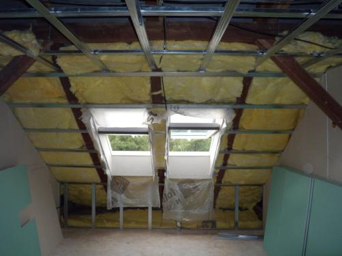 zeteplovani střechy